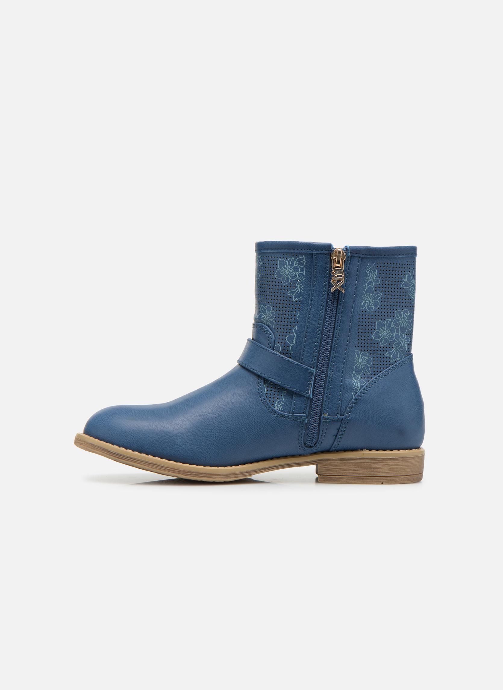 Bottines et boots Xti Randy 45017 Bleu vue face
