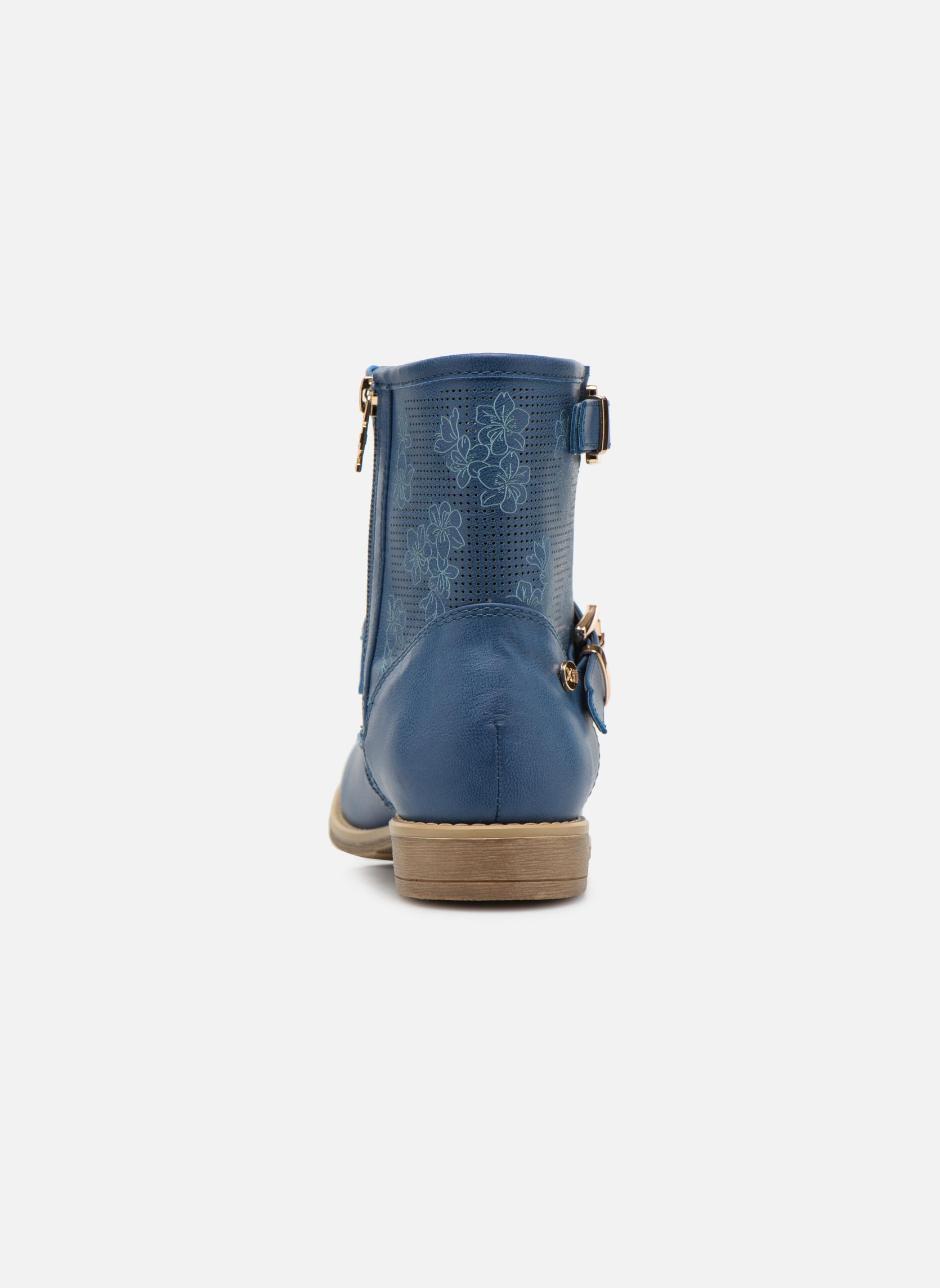 Stiefeletten & Boots Xti Randy 45017 blau ansicht von rechts