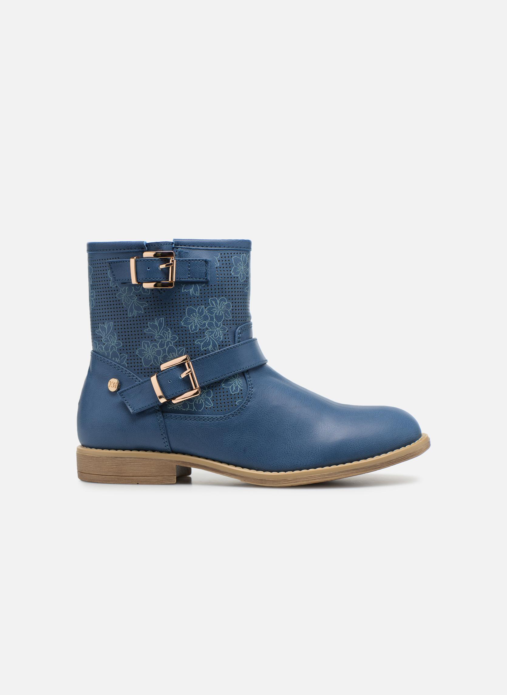 Stiefeletten & Boots Xti Randy 45017 blau ansicht von hinten