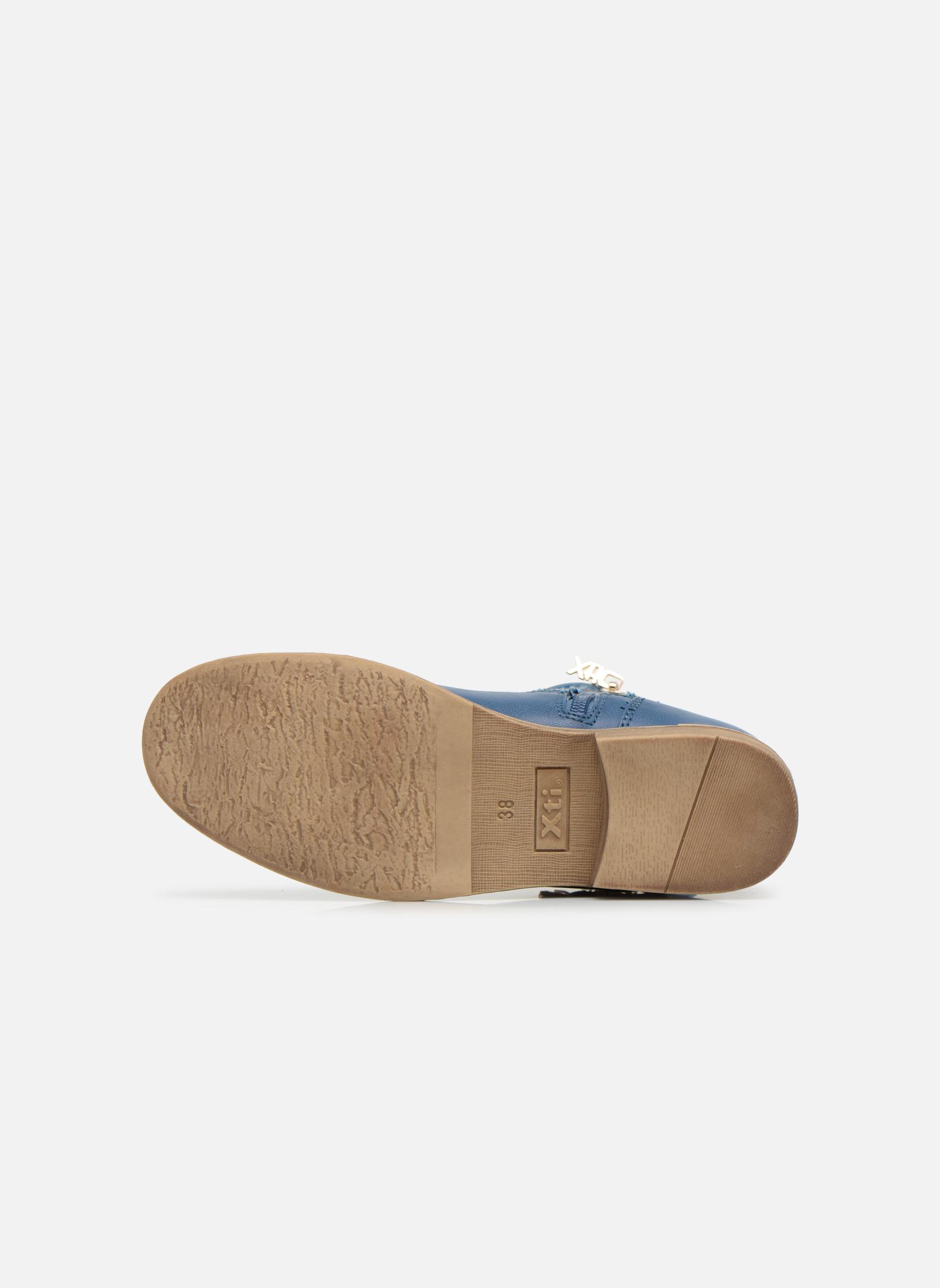 Bottines et boots Xti Randy 45017 Bleu vue haut