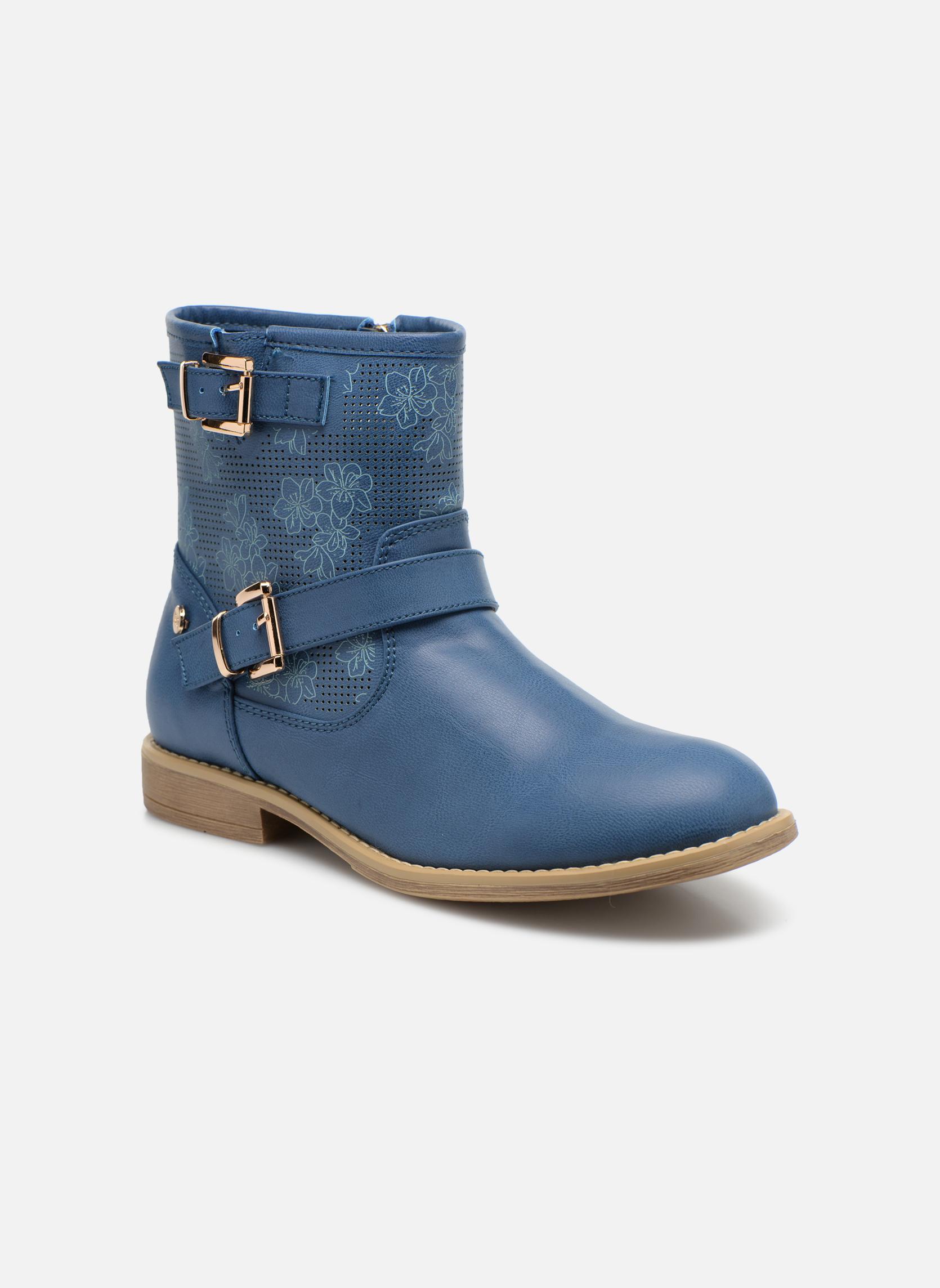 Bottines et boots Xti Randy 45017 Bleu vue détail/paire