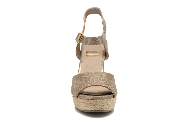 Sandales et nu-pieds Xti Hobby 45855 Or et bronze vue portées chaussures