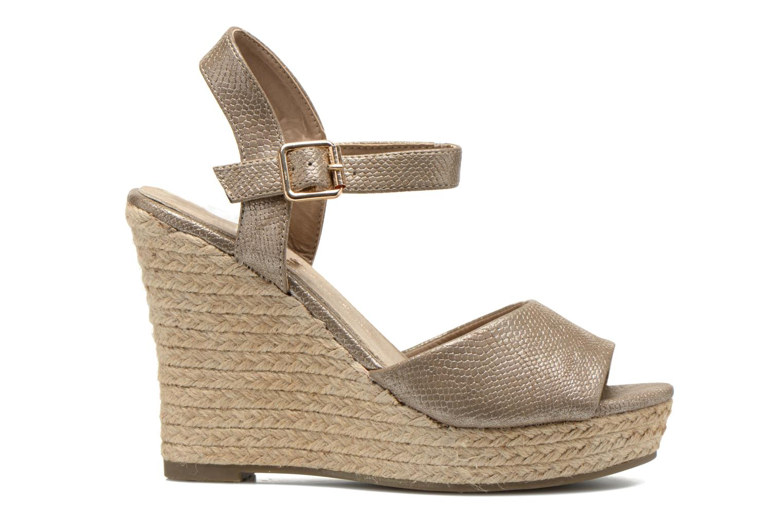 Sandales et nu-pieds Xti Hobby 45855 Or et bronze vue derrière