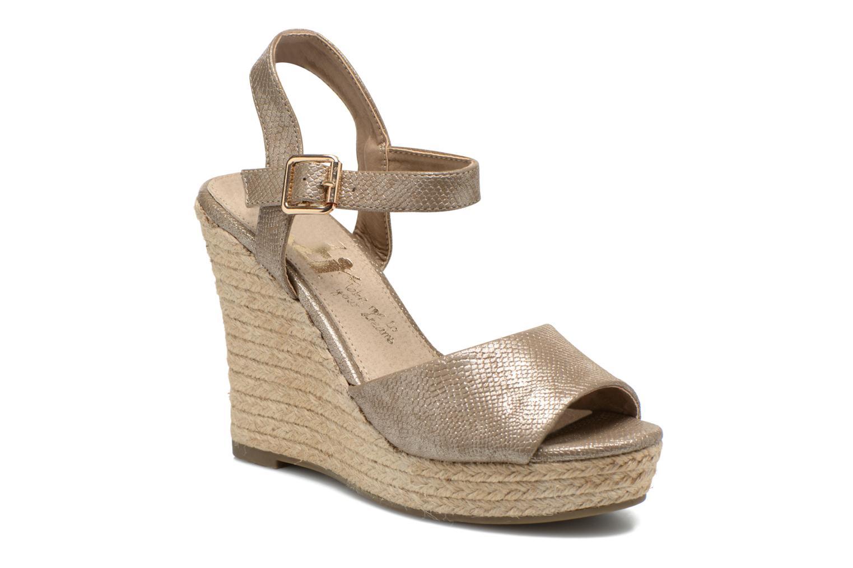 Sandales et nu-pieds Xti Hobby 45855 Or et bronze vue détail/paire