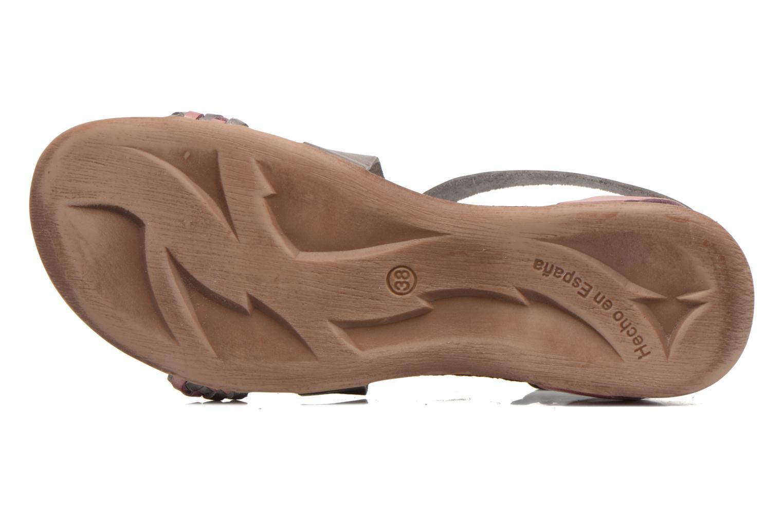 Sandales et nu-pieds Kickers Analogia Rose vue haut