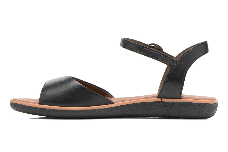 Sandales et nu-pieds Kickers Hypsi Noir vue face