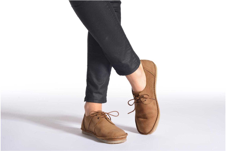 Zapatos con cordones Kickers Mystilace Marrón vista de abajo