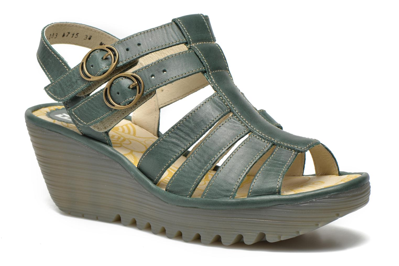 Fly London Ygor (Verde) - Sandali e scarpe aperte chez Sarenza (248412) 80d47e2bae1