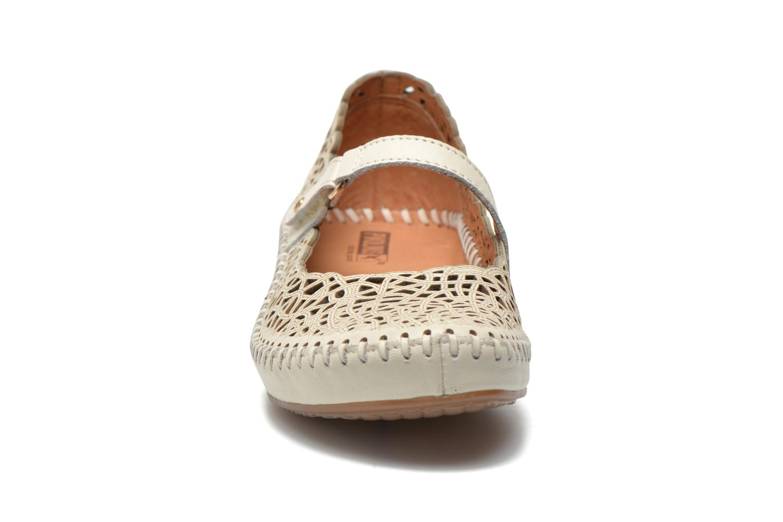 Ballerines Pikolinos P. Vallarta 655-5588 Blanc vue portées chaussures