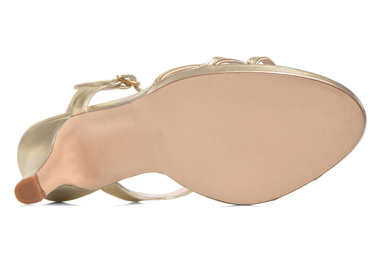 Sandales et nu-pieds Anna Volodia Flora 3 Or et bronze vue haut