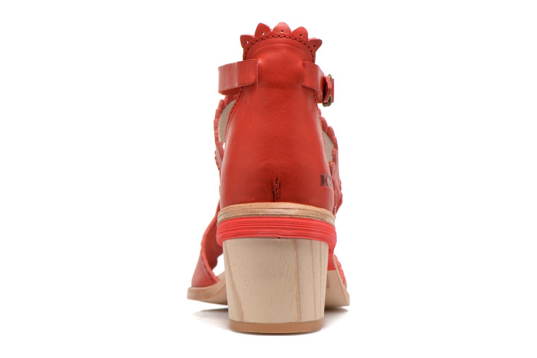 Sandalen Dkode Genie rot ansicht von rechts