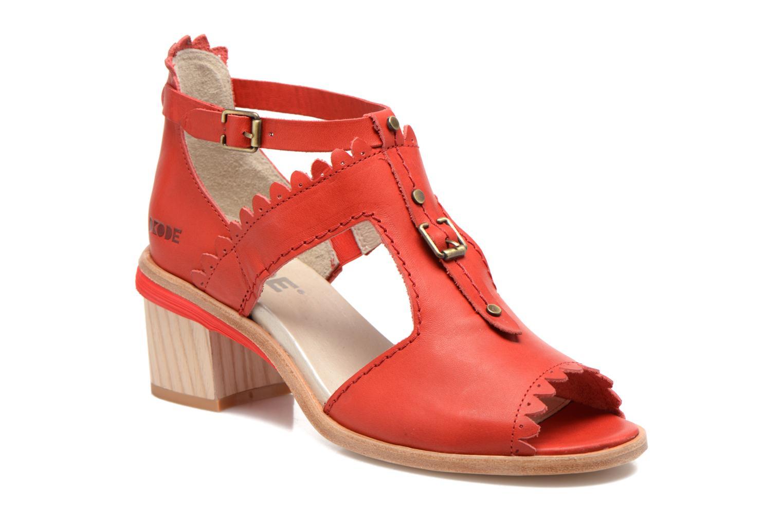 Sandalen Dkode Genie rot detaillierte ansicht/modell