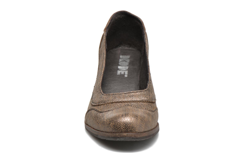 Escarpins Dkode Valdis Marron vue portées chaussures