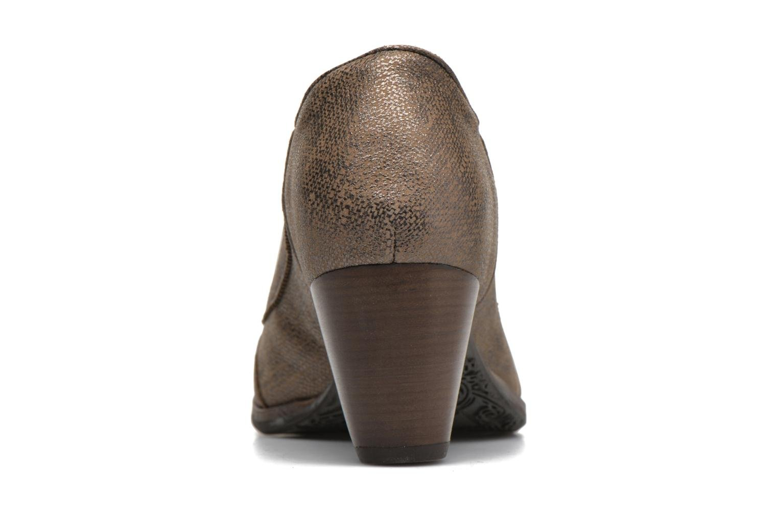 High heels Dkode Valdis Brown view from the right