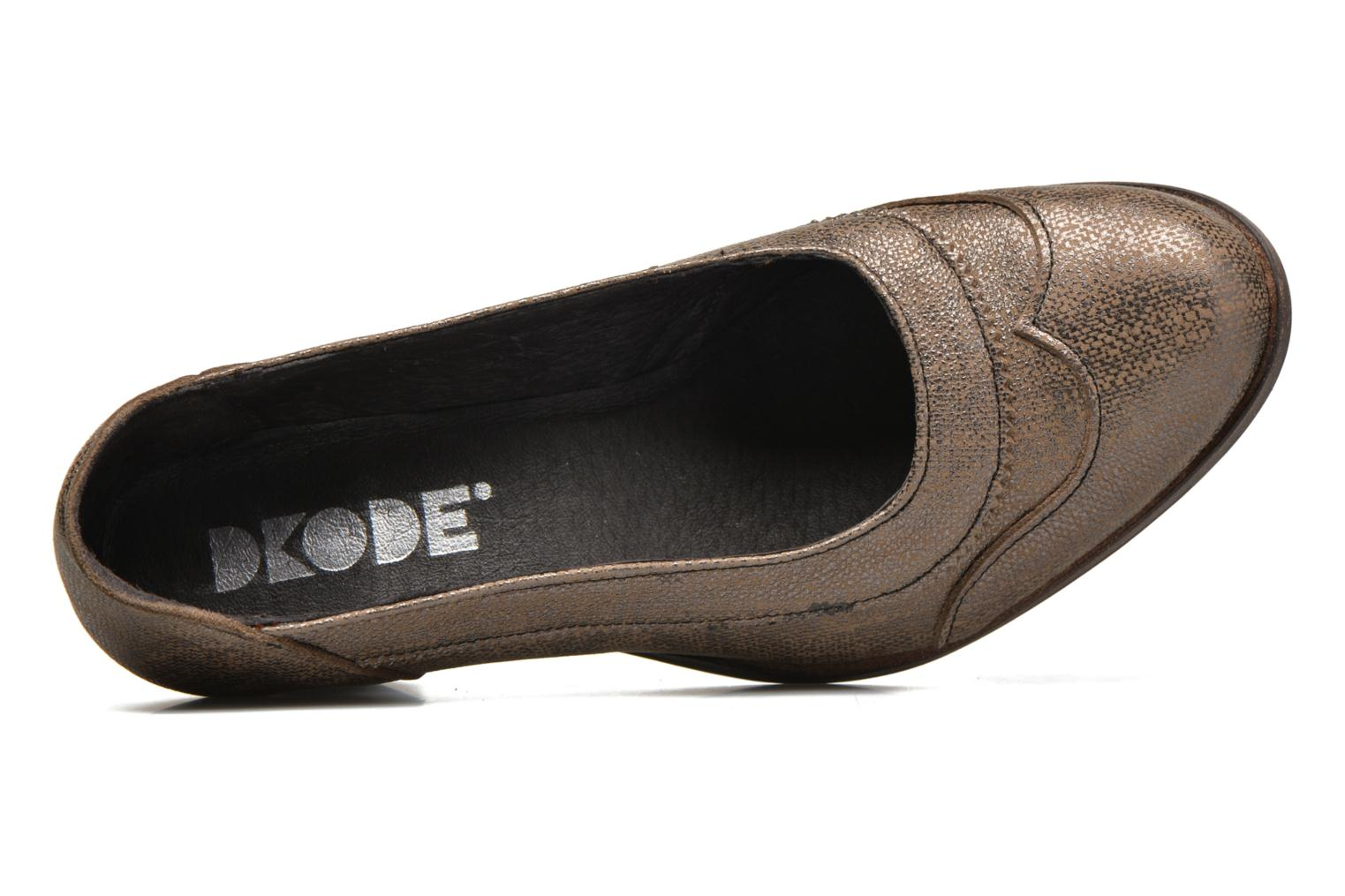 High heels Dkode Valdis Brown view from the left