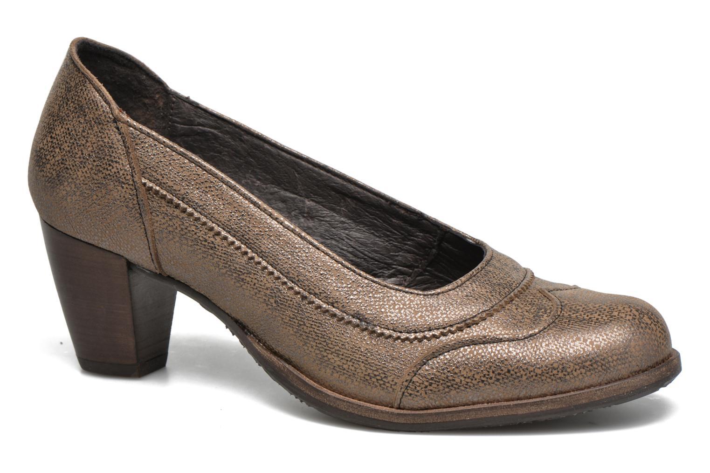 High heels Dkode Valdis Brown detailed view/ Pair view