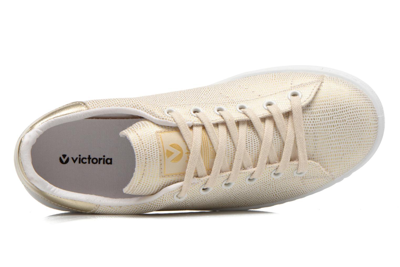Sneaker Victoria Deportivo Basket Tejido Fant gold/bronze ansicht von links