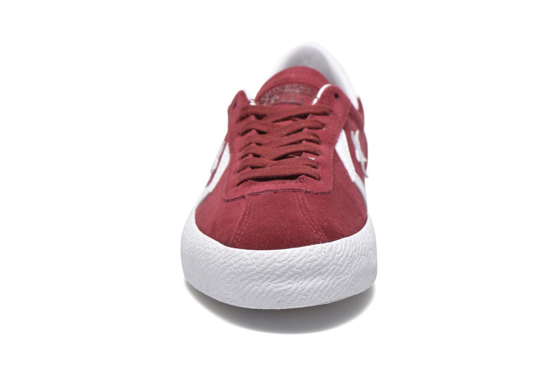 Baskets Converse Breakpoint Ox M Bordeaux vue portées chaussures