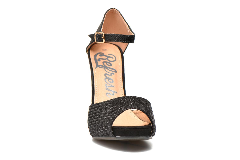 Sandalen Refresh Lena schwarz schuhe getragen