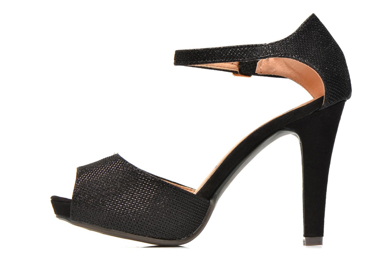 Sandalen Refresh Lena schwarz ansicht von vorne