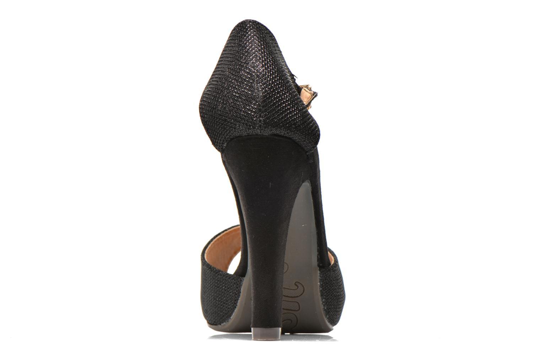 Sandales et nu-pieds Refresh Lena Noir vue droite