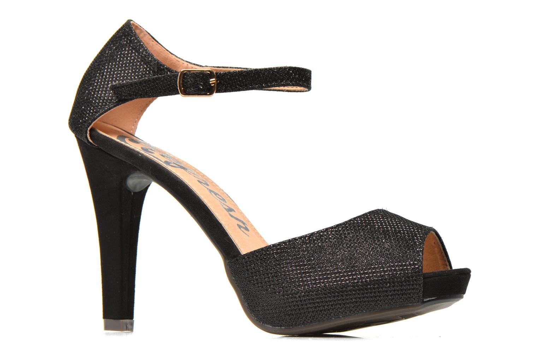 Sandales et nu-pieds Refresh Lena Noir vue derrière