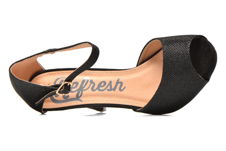 Sandales et nu-pieds Refresh Lena Noir vue gauche