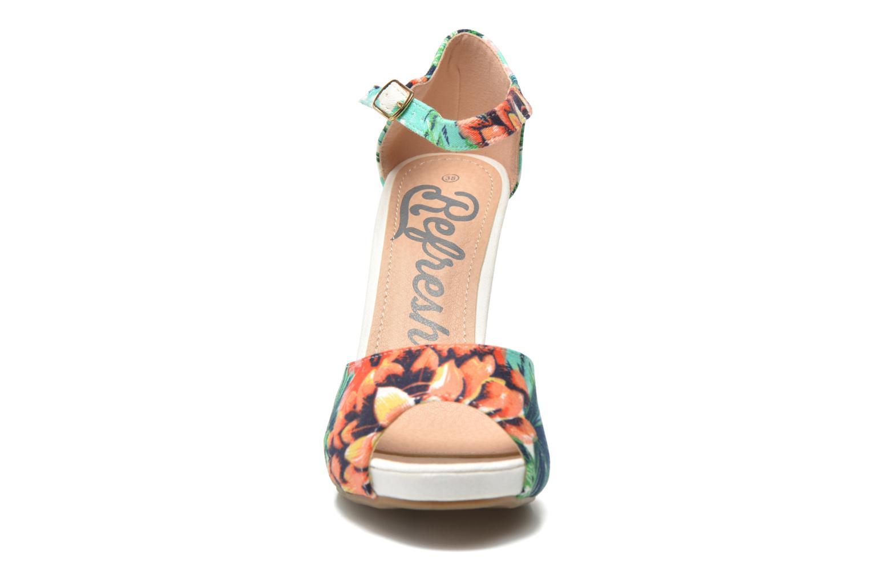 Sandales et nu-pieds Refresh Lena Multicolore vue portées chaussures