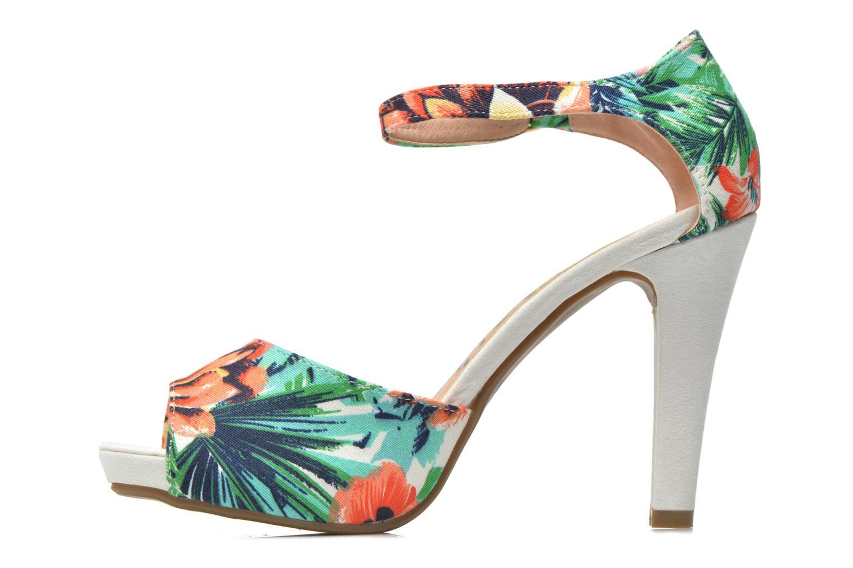 Sandales et nu-pieds Refresh Lena Multicolore vue face