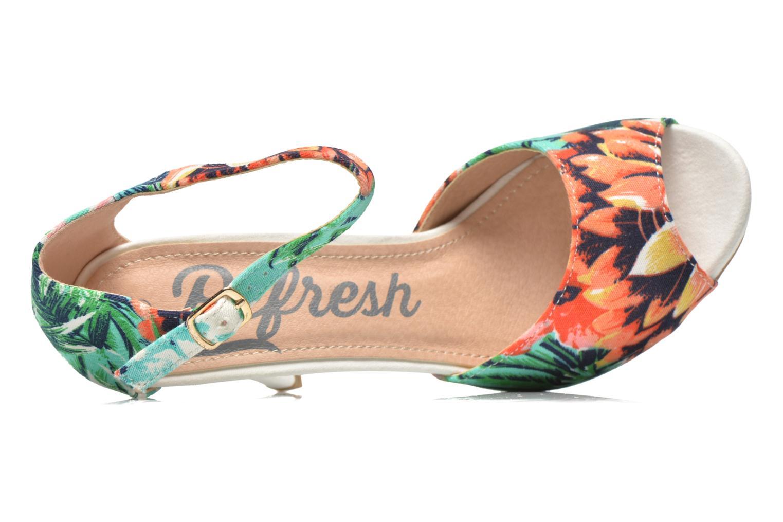 Sandales et nu-pieds Refresh Lena Multicolore vue gauche