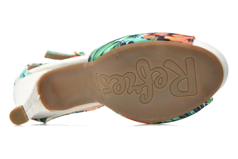 Sandales et nu-pieds Refresh Lena Multicolore vue haut