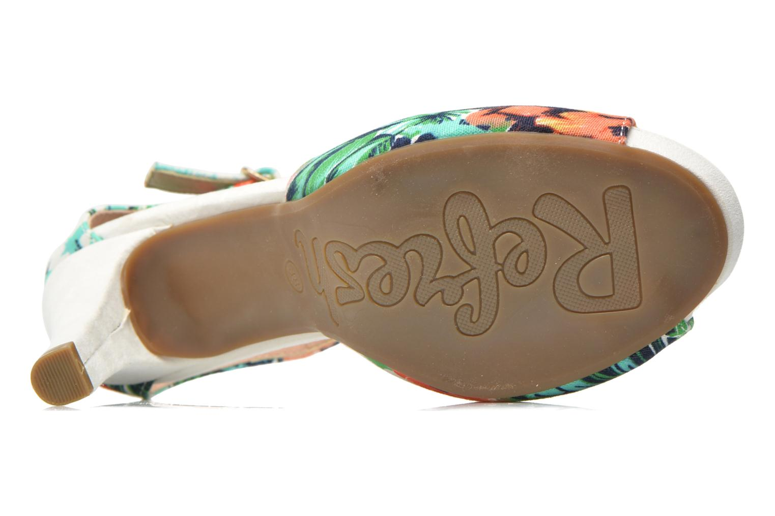 Sandals Refresh Lena Multicolor view from above
