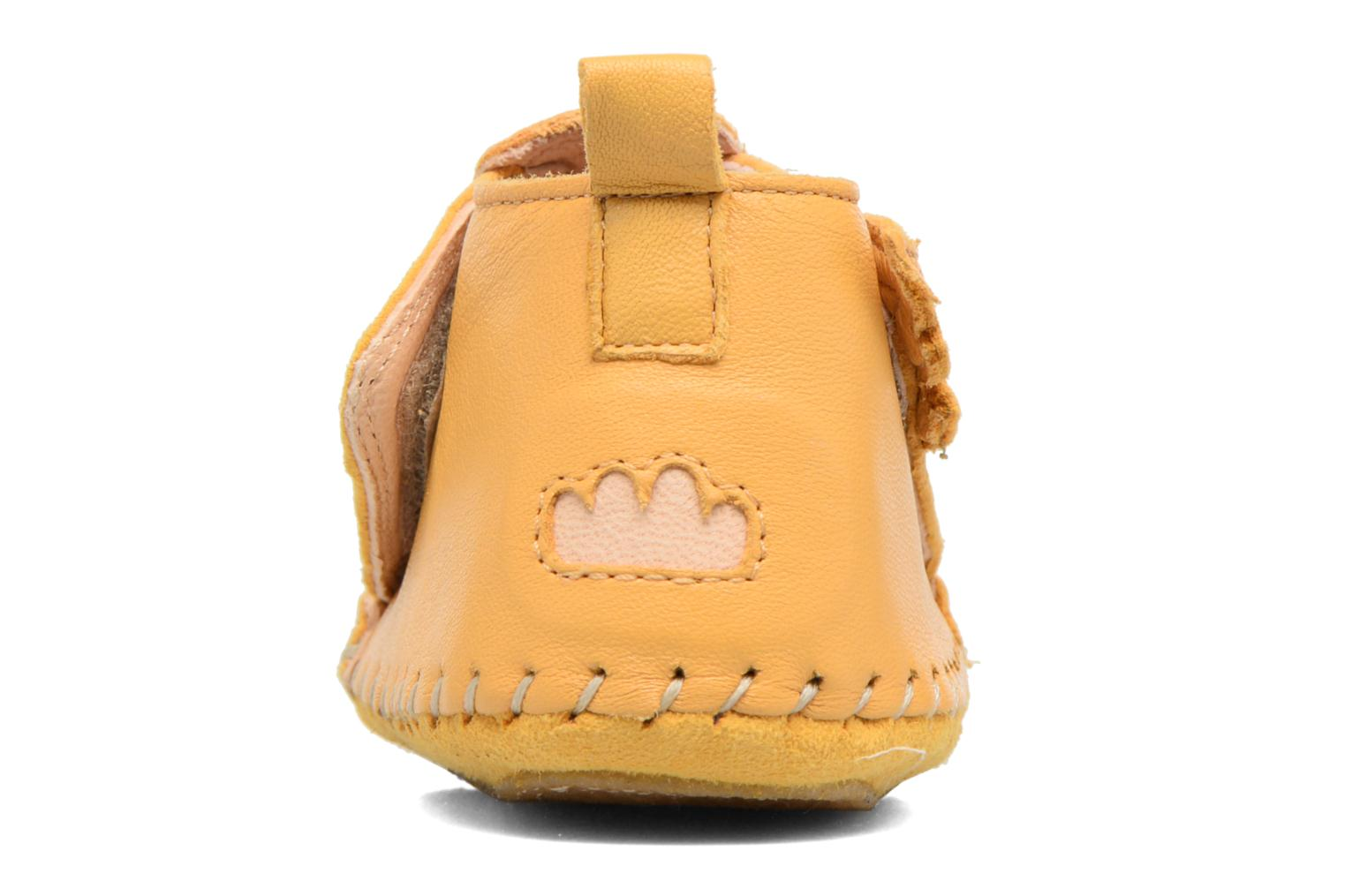 Slippers Easy Peasy Bomok Aile Yellow back view