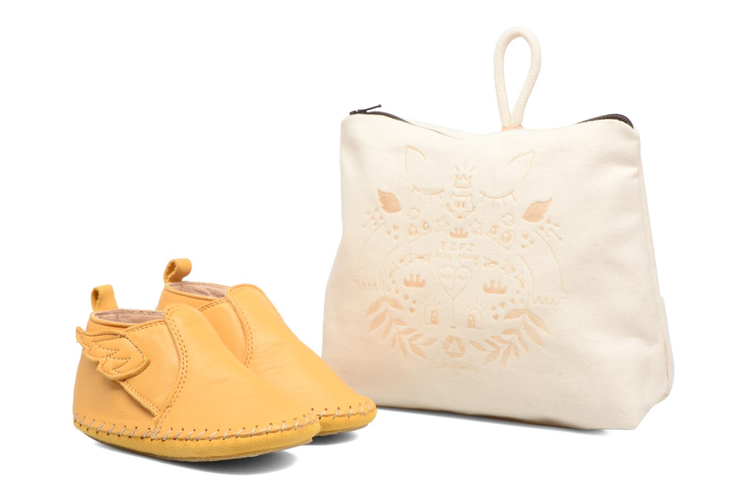 Slippers Easy Peasy Bomok Aile Yellow detailed view/ Pair view