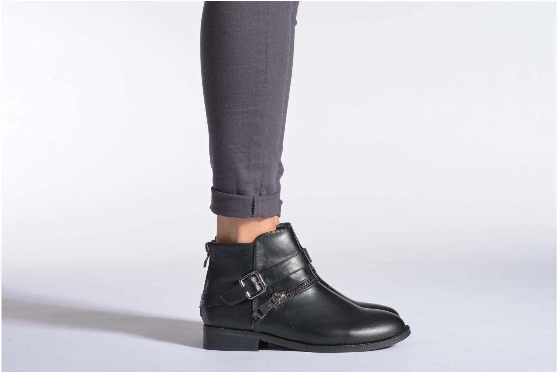 Bottines et boots Enza Nucci Carla Noir vue bas / vue portée sac