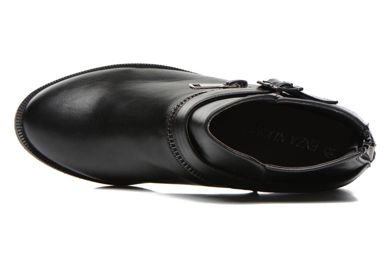 Bottines et boots Enza Nucci Carla Noir vue gauche