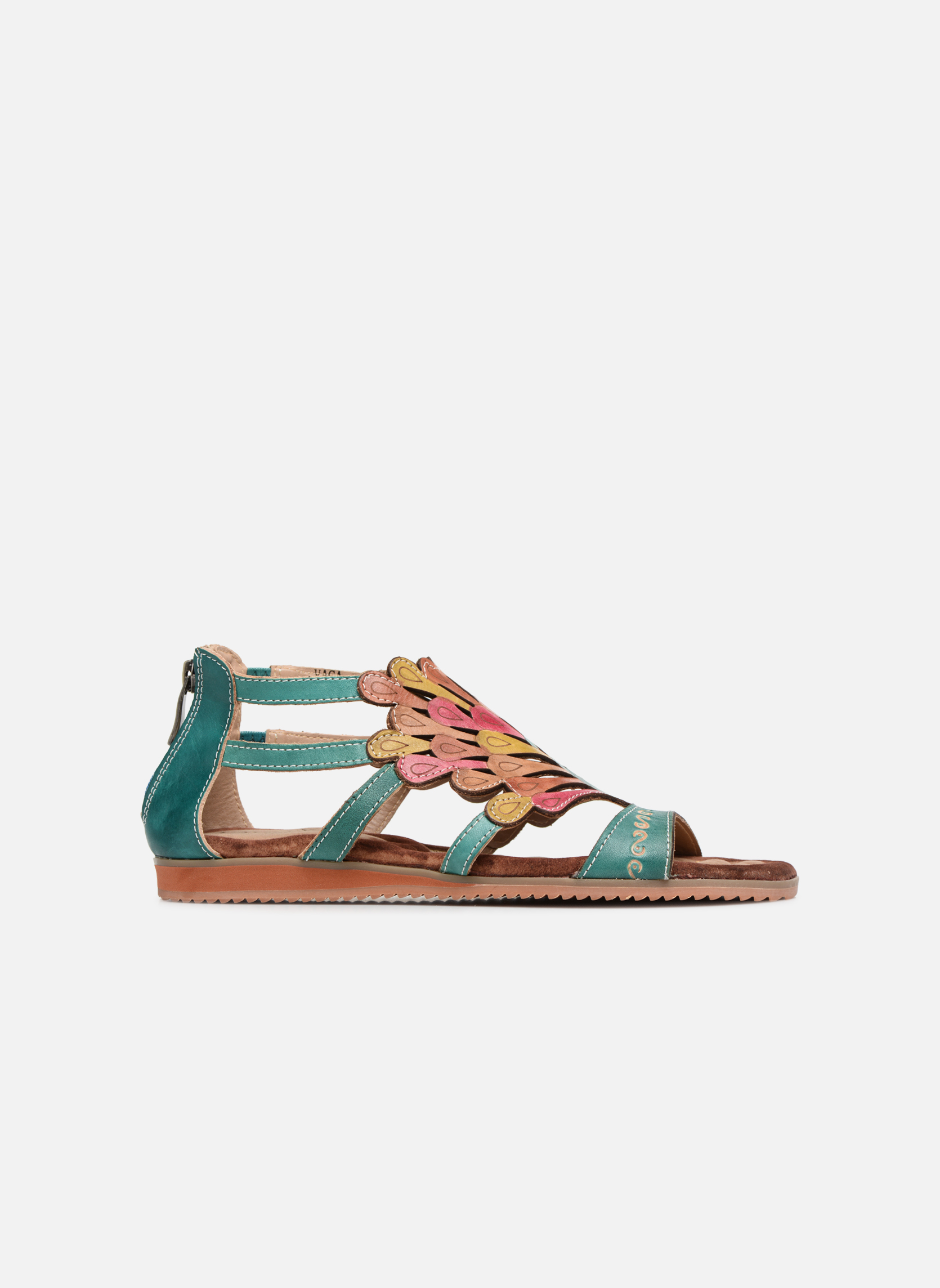 Sandals Laura Vita Vaca Multicolor back view