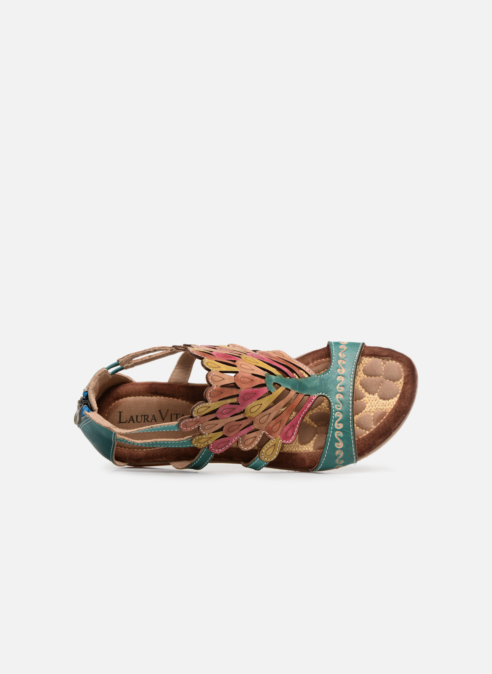 Sandals Laura Vita Vaca Multicolor view from the left