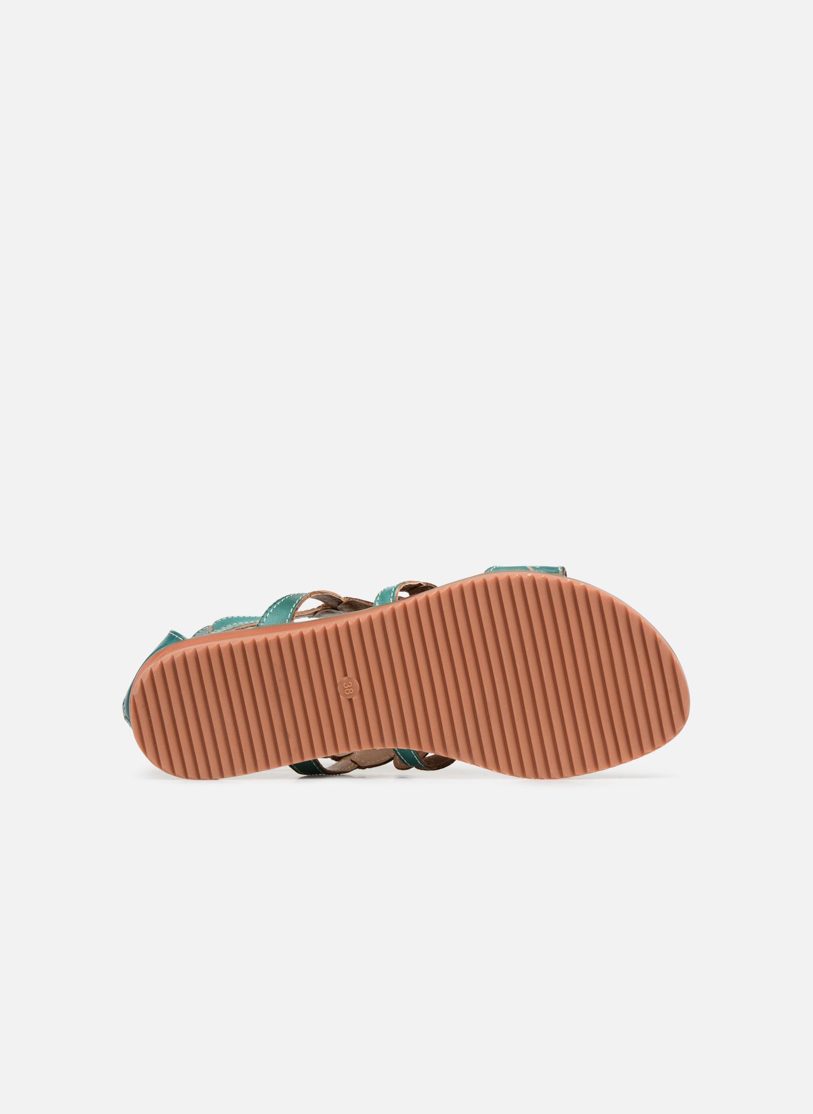Sandales et nu-pieds Laura Vita Vaca Multicolore vue haut
