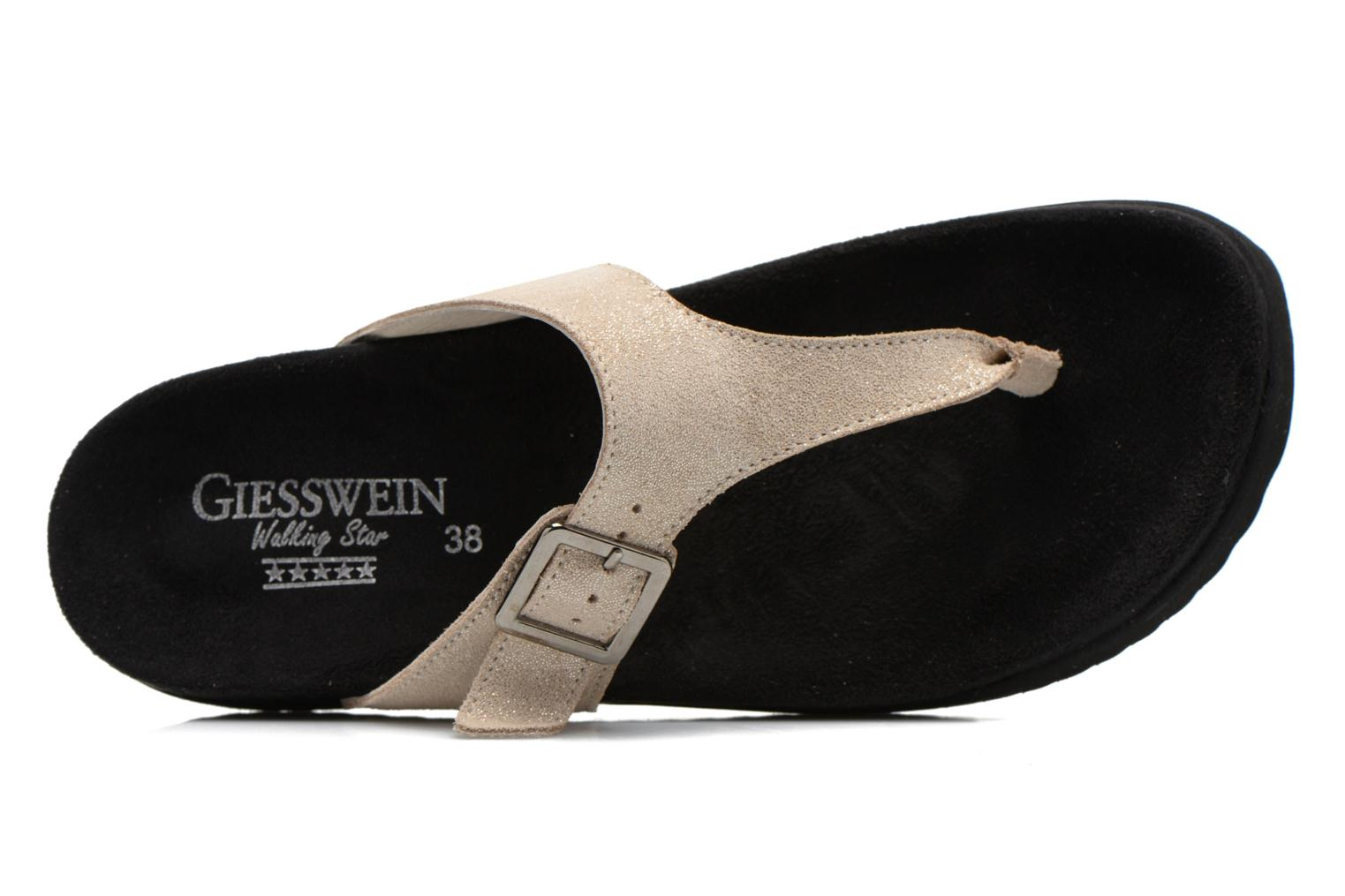 Mules & clogs Giesswein Verona Beige view from the left