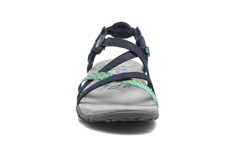 Chaussures de sport Merrell Terran Lattice II Bleu vue portées chaussures