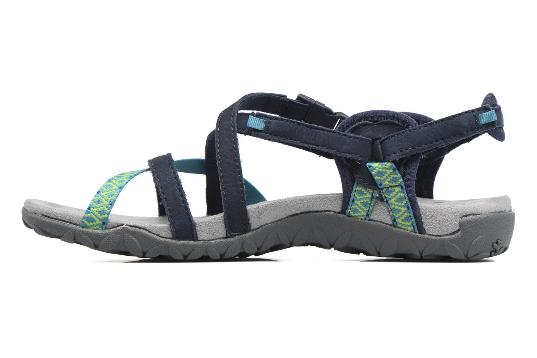 Chaussures de sport Merrell Terran Lattice II Bleu vue face