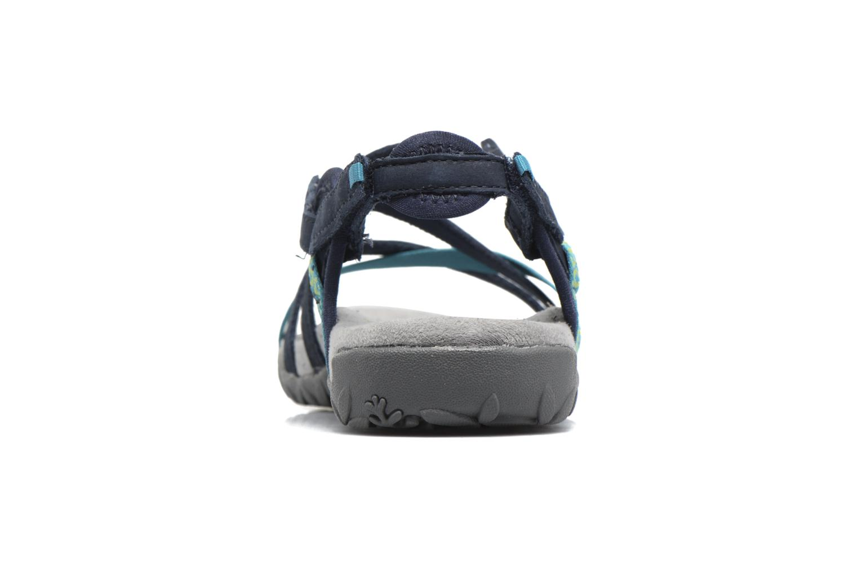 Chaussures de sport Merrell Terran Lattice II Bleu vue droite