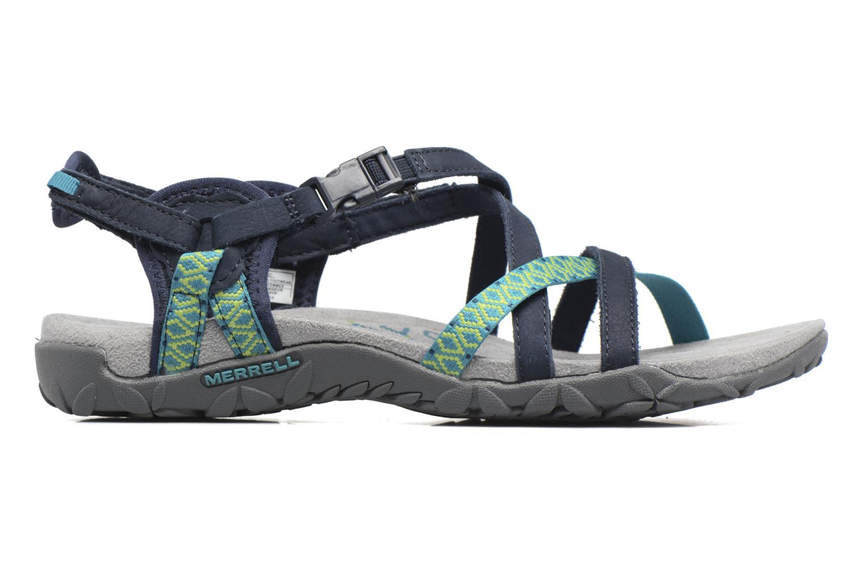 Chaussures de sport Merrell Terran Lattice II Bleu vue derrière