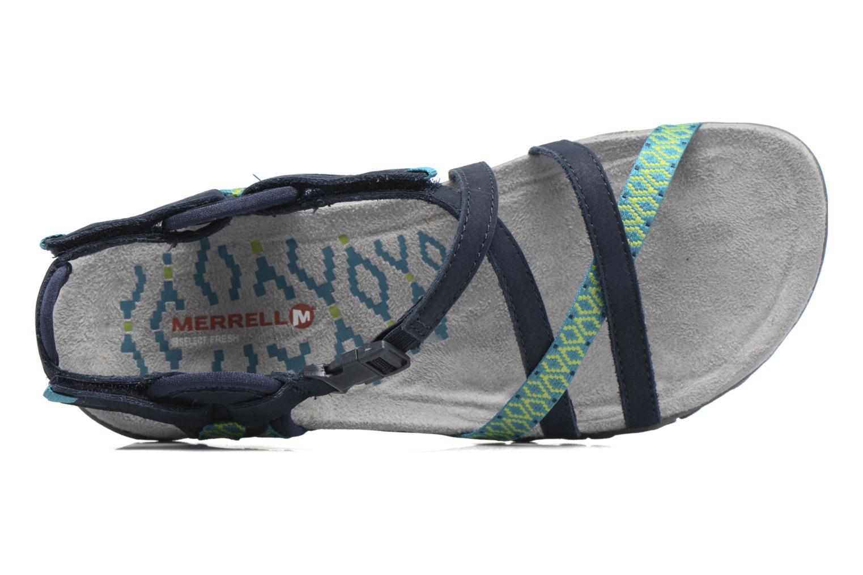 Chaussures de sport Merrell Terran Lattice II Bleu vue gauche