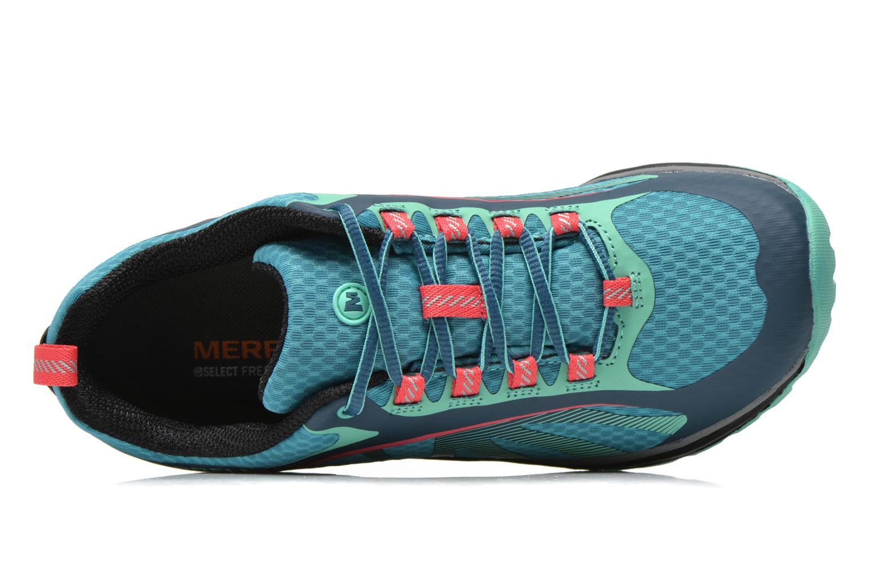 Chaussures de sport Merrell Siren Edge Vert vue gauche