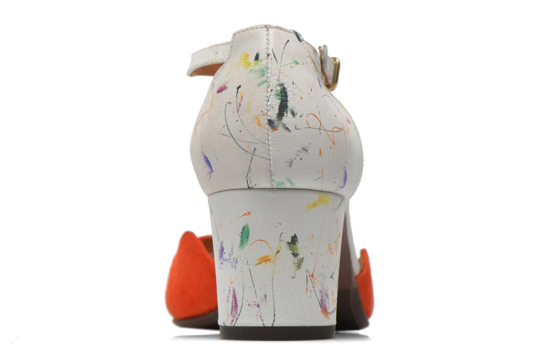 Sandalias Chie Mihara Birra Multicolor vista lateral derecha