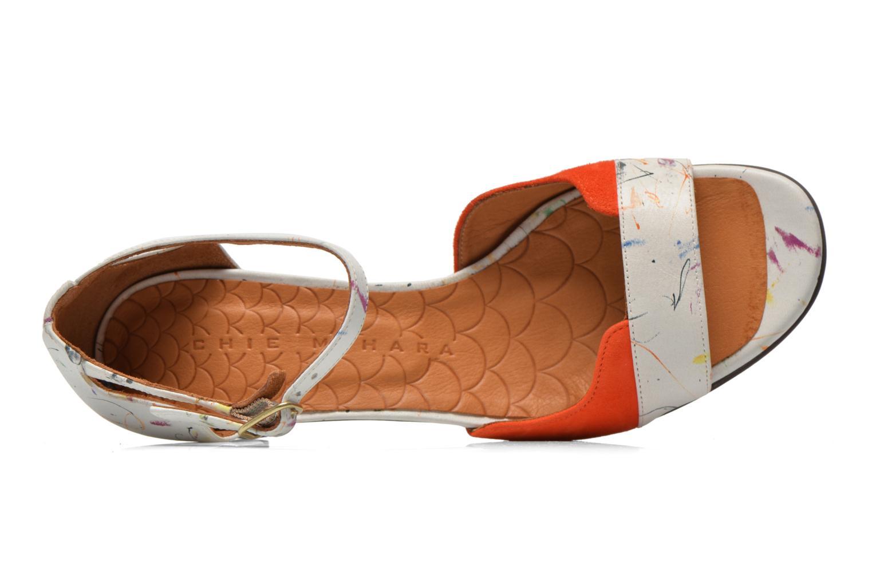 Sandalias Chie Mihara Birra Multicolor vista lateral izquierda