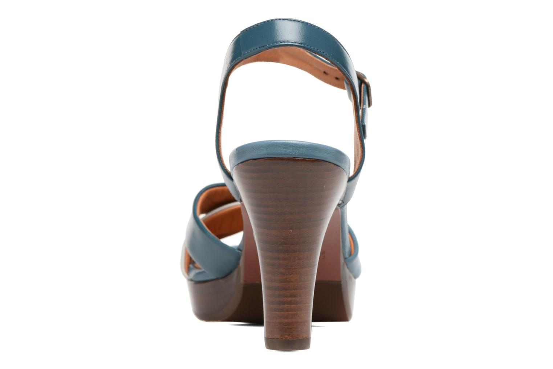 Sandales et nu-pieds Chie Mihara Lulupa Bleu vue droite
