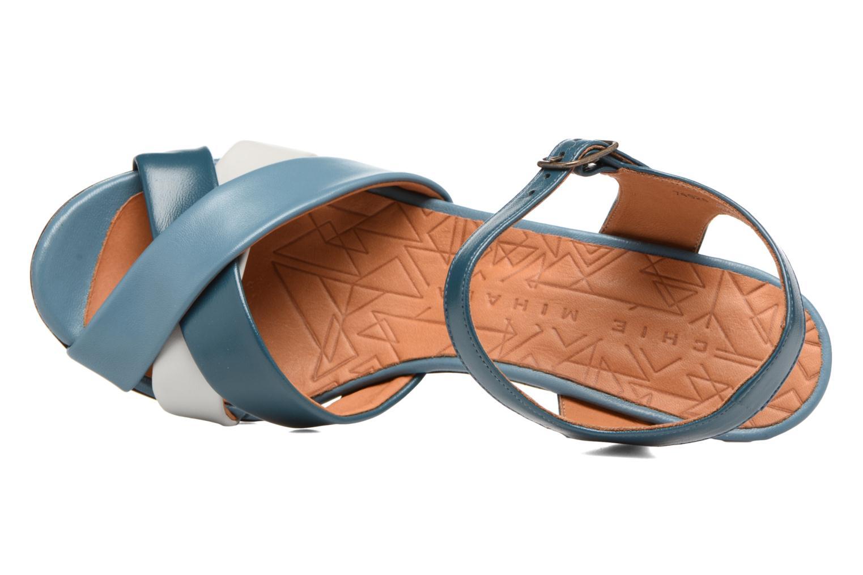 Sandales et nu-pieds Chie Mihara Lulupa Bleu vue gauche